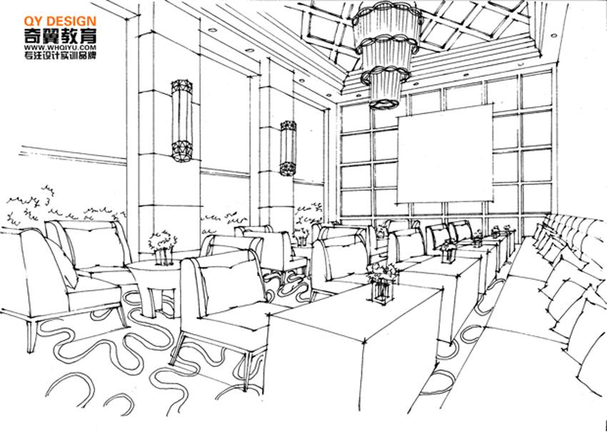 蚌埠电脑培训,室内设计培训,平面设计培训--奇翼室内